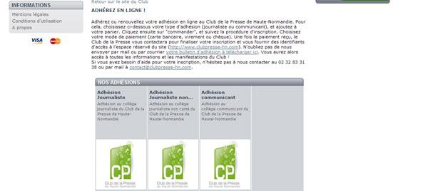 8d79c4d573938 Le Club de la Presse a mis en place un système de paiement en ligne. Vous  pouvez désormais adhérer ou renouveller votre adhésion directement de via  notre ...