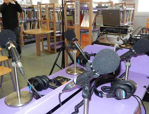 CRED : ateliers radio dans les collèges