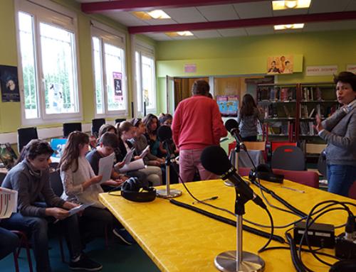 Atelier radio au collège Picasso d'Harfleur