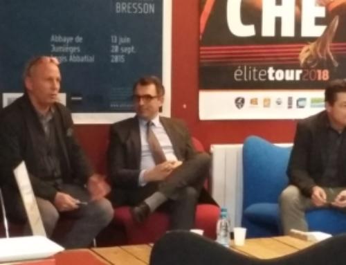 Luc Lemonnier, maire du Havre, en visite au Club