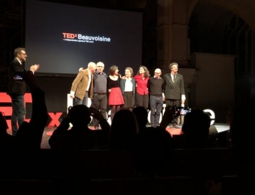 Un de nos administrateurs sur scène au TEDx Beauvoisine