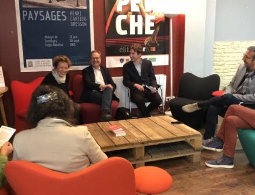 Discussion autour de l'avenir de la presse avec Jean-Marie Charon