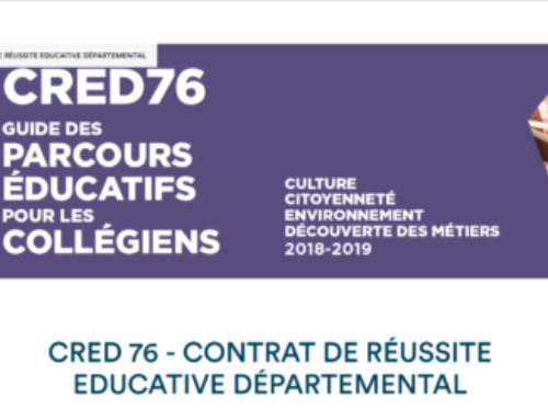 Les Cred 2018 du Club dans 2 collèges de Seine-Maritime