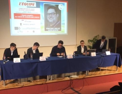Le journaliste sportif Vincent Duluc, invité des Jeudis du sport