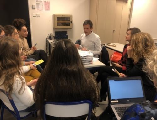 Les étudiants professeurs eurois sensibilisés à l'Education aux médias