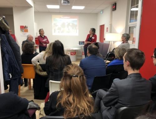 Les studios de RCF à Rouen ouvrent leurs portes aux adhérents