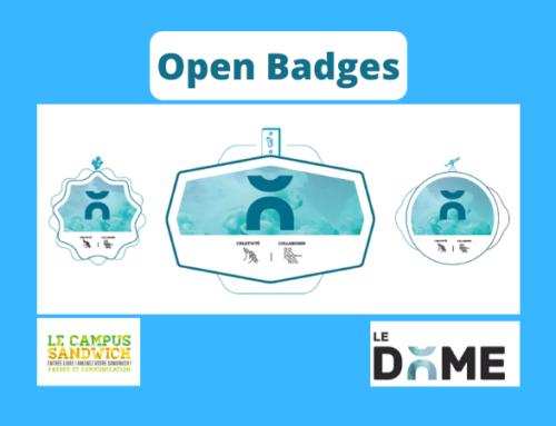 Open Badges : valorisons nos parcours !