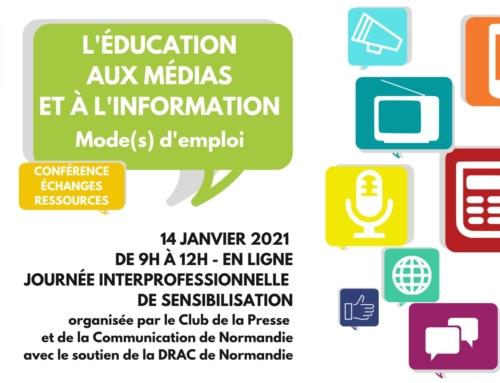 Ouverture des inscriptions pour notre journée de sensibilisation à l'Éducation aux médias et à l'information