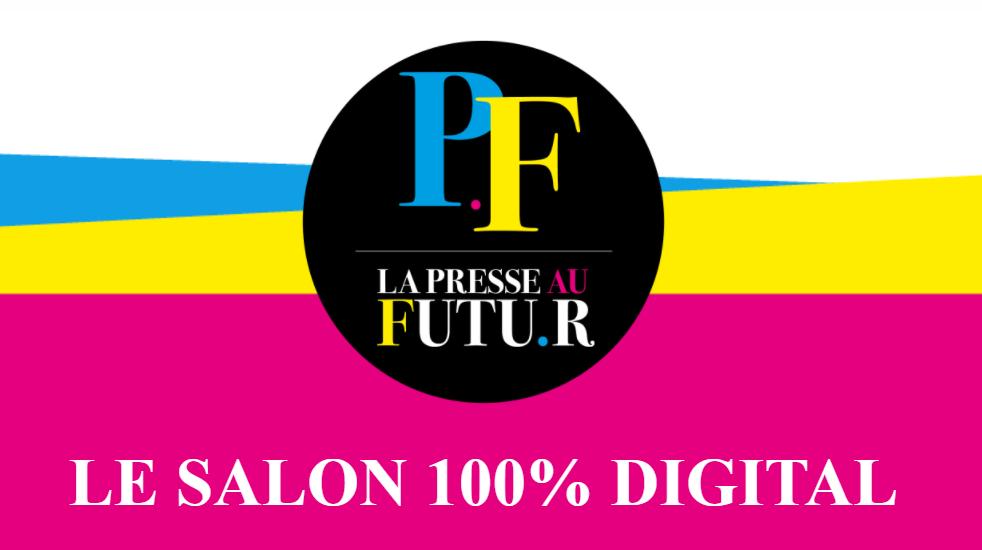 logo presse au futur