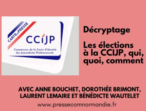Élections CCIJP : ils tiennent à la carte de presse, ils appellent à voter